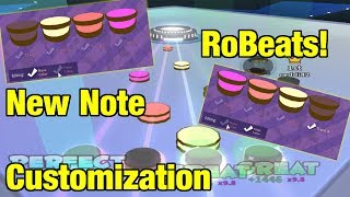 Changing my Note Colors... sorry... | New Note Customization Update | RoBeats! (ROBLOX)