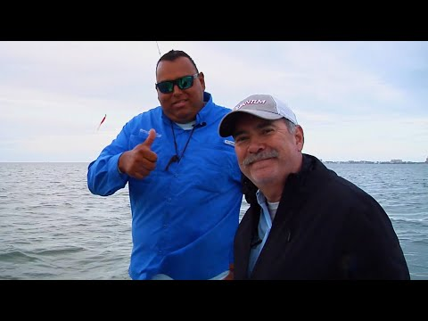 Fishing With Captain Big John For Winter Trout Out Of SPI