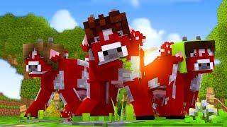 Minecraft: DISFARCE DE VACA COGUMELO - (Esconde-Esconde com Mobs)