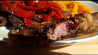 Lamb Chops with Mash Recipe!! Fitness Foods!!