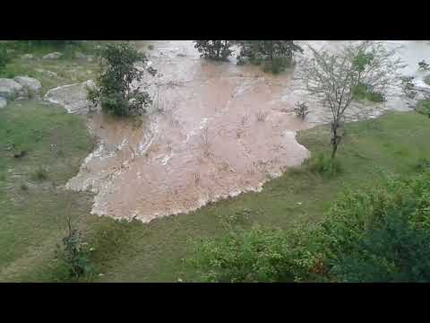 FLASH FLOODS TO PALAR RIVER V KUPPAM PART 2 WATER FLOW