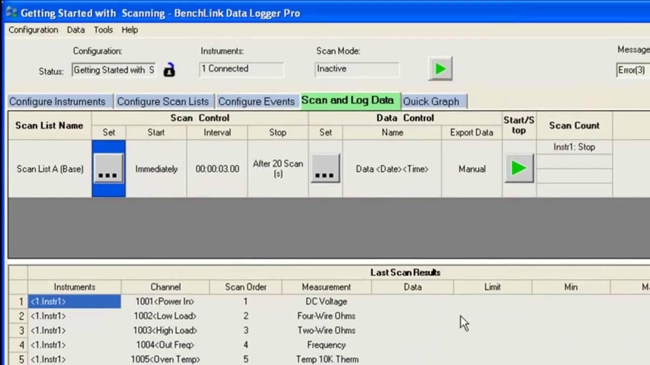 hp benchlink software