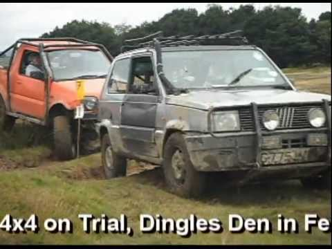 Fiat panda 4x4 off road 2012 fellbeck trial yorkshireboys for Panda 4x4 sisley off road
