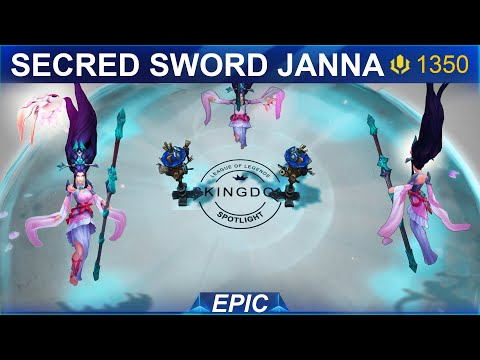 Sacred Sword Janna 2020 Skin Spotlight | SKingdom - League of Legends