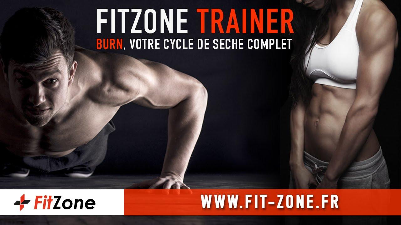 fitzone trainer burn 100 seche programme nutrition personnalis s hommes ou femmes. Black Bedroom Furniture Sets. Home Design Ideas