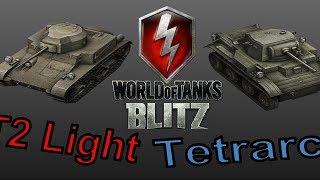 World of Tanks Blitz | Low Tier Premium | T2 Light/Tetrarch