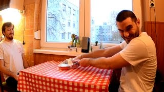 Hungry Hungarian Mealtime - Surströmming Challenge