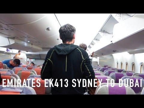 TRIP REPORT: Emirates EK413 Airbus A380 Sydney to Dubai