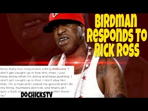 Birdman Responds To Rick Ross In Billboard Magazine Interview | DocHicksTv