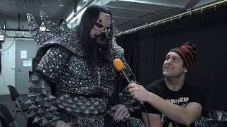 """Lordi Interview Mr. Lordi About """"Killection"""" @ Icehall Helsinki, Finland 13.12.2019"""