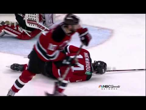 Henrique takes one in the twins. NY Rangers vs  New Jersey Devils Game 6 5/25/12 NHL Hockey