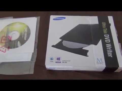 Samsung Ultra-Thin DVD Drive SE-208GB/RSBD Black