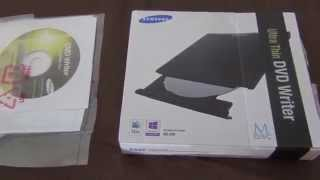 Samsung Ultra-Thin DVD Drive SE-208GB/RSBD Black