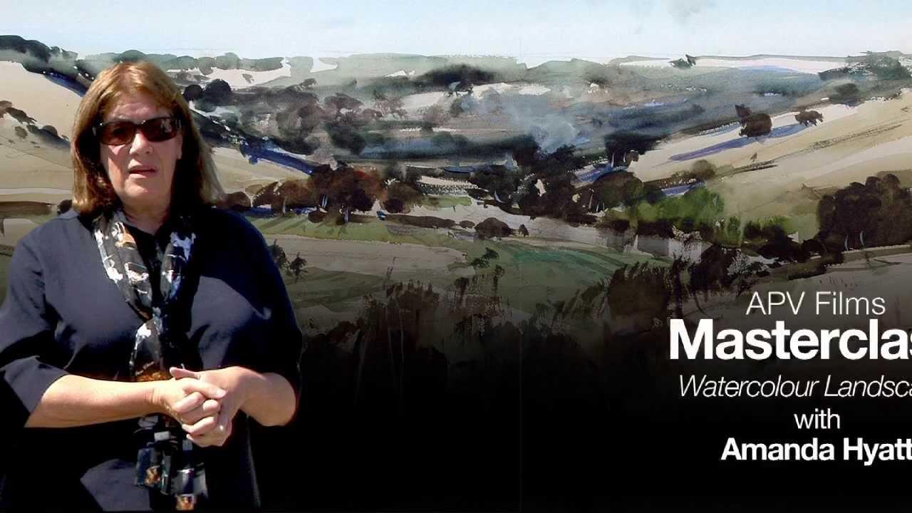 Download APV Films Masterclass - Watercolour Landcape with Amanda Hyatt