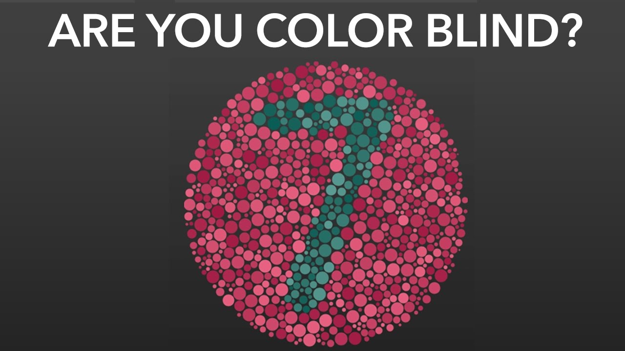 If You Can See This Re Color Blind - Best Blind 2018