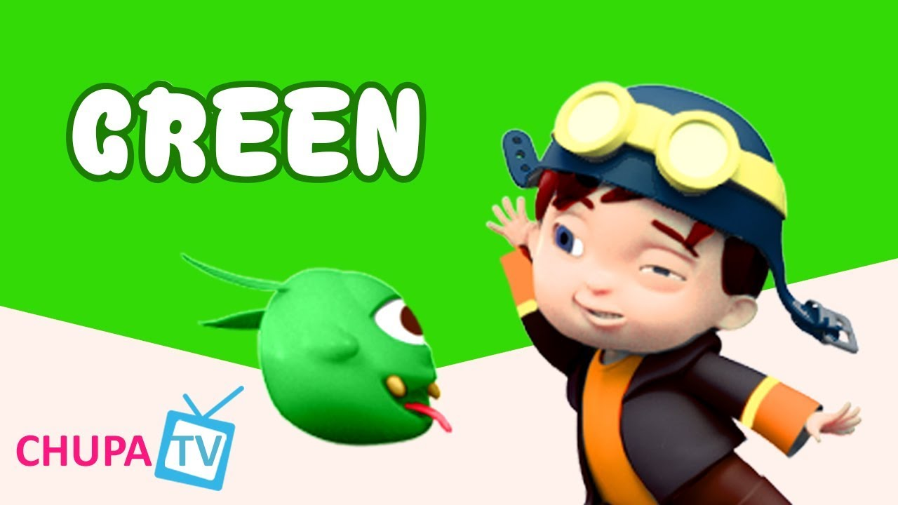 Color Songs - The GREEN Song | Learn Colours | Preschool Colors ...