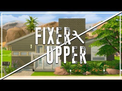 RAFFIA QUINTA // The Sims 4: Fixer Upper - Home Renovation