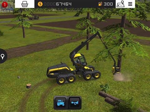 Farming Simulator 16 - #5 Forestry - ScorpionKing and Buffalo - Gameplay
