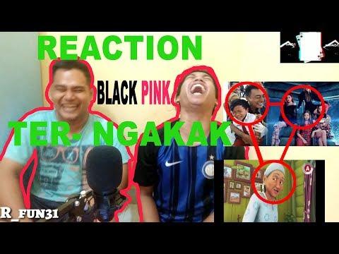 NON KPOP REACT TO KPOP Ter NGAKAK BLACKPINK (boombayah)