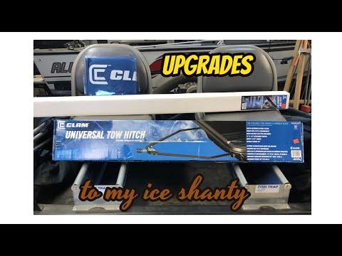 Clam Ice Shanty Upgrades
