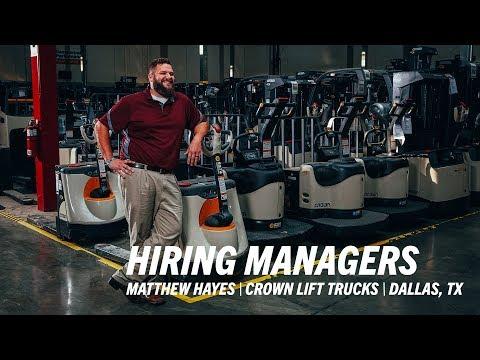 Crown Lift Trucks In Dallas Field Service Manager Matthew Hayes Talks Universal Technical Institute