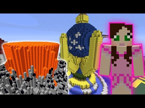 Minecraft: TORNADOES & DISASTERS TAKE OVER WOOSH GAMES!