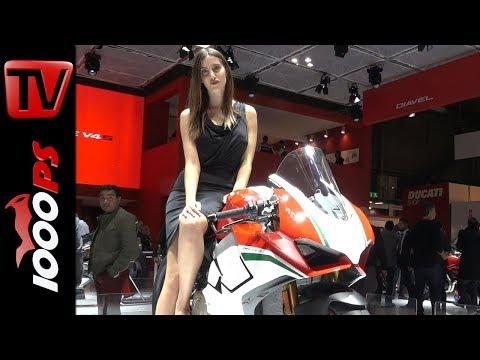 Ducati 2018 - Panigale V4 - Preis, Leistung, Daten - Scrambler 1100, Multistrada 1260