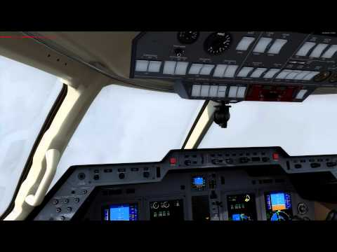 Carenado Hawker 850XP, PAHO to PAEN Cold and Dark Tutorial