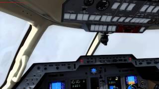 Carenado Hawker 850XP, PAHO to PAEN Cold and Dark Tutorial