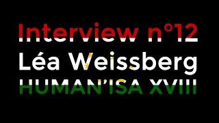 Interview anciens présidents n°12 : Présidente HUMAN'ISA 2018
