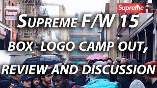 Supreme FW15 Box Logo Crewneck Camp Out London(, 2015-12-21T02:39:42.000Z)