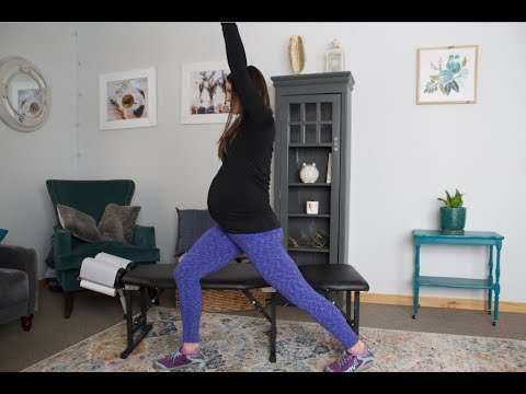 Hip Flexor (Psoas Stretch) - Pregnancy