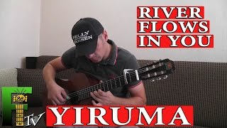 (Yiruma) River Flows In You - (FingerstyleTV)