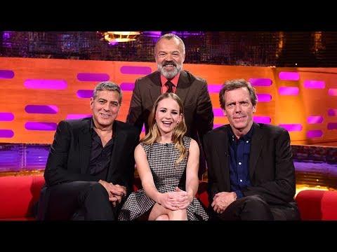 The Graham Norton Show S17EP7 : George ClooneyDwayne JohnsonHugh LaurieJessica HynesSnoop Dogg