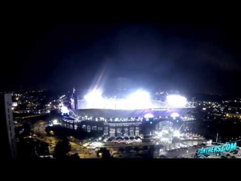 Sunday Night Football Timelapse | Bank of America Stadium