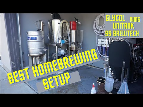 THE BEST HOMEBREWING SETUP