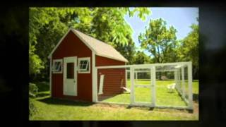 Build Your Own Chicken Coop - Chicken House Plans