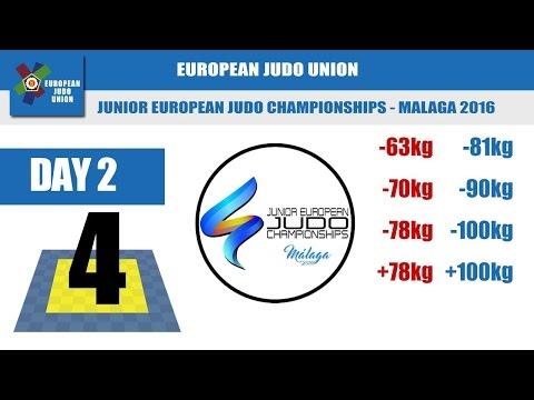 Junior European Judo Championships - Malaga 2016 - Day 2 - Tatami 4