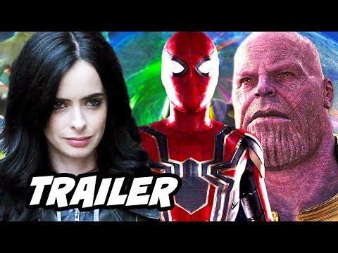Jessica Jones Season 2 Trailer - Spider Man Avengers Easter Eggs