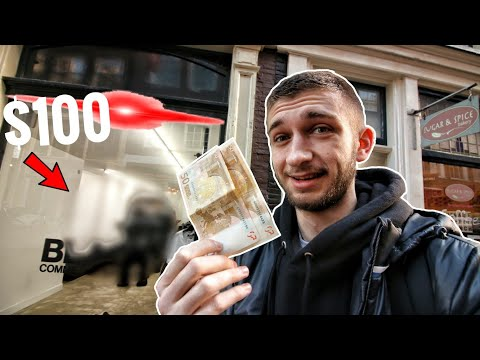 WHAT CAN $100 BUY YOU IN AMSTERDAM... THIS IS WHAT HAPPENED