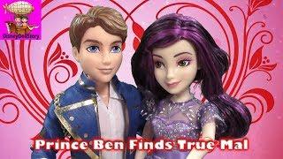 descendants mal gives prince ben true love s kiss part 3 looks can t deceive descendants disney