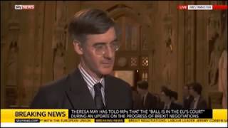 Jacob Rees-Mogg Demands Real BREXIT