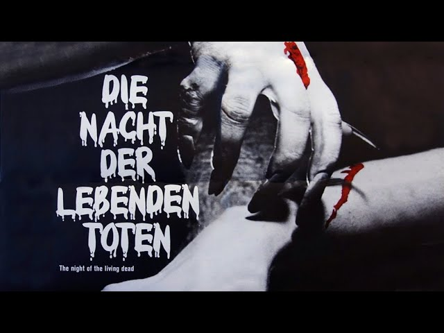 George A. Romero's DIE NACHT DER LEBENDEN TOTEN - Trailer (1968, Deutsch/German)
