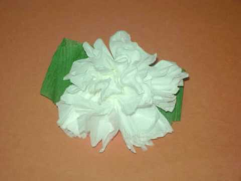 how to make toilet paper flowers