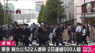 東京都で新たに522人の感染確認 2日連続で500人超(2020年11月20日) - YouTube