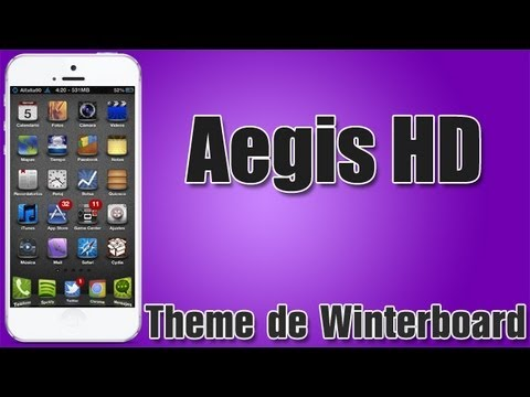 Aegis HD | Theme de winterboard para iPhone, iPod Touch con Widgets