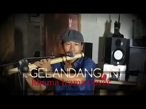 GELANDANGAN - RHOMA IRAMA KARAOKE FULL LIRIK - SULING ASLI