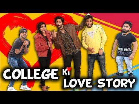 COLLEGE KI LOVE STORY | Feat- Ali Fazal - Milan Talkies