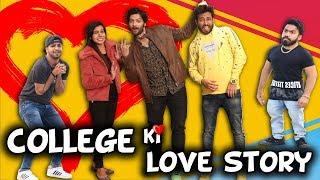 COLLEGE KI LOVE STORY | Feat Ali Fazal Milan Talkies