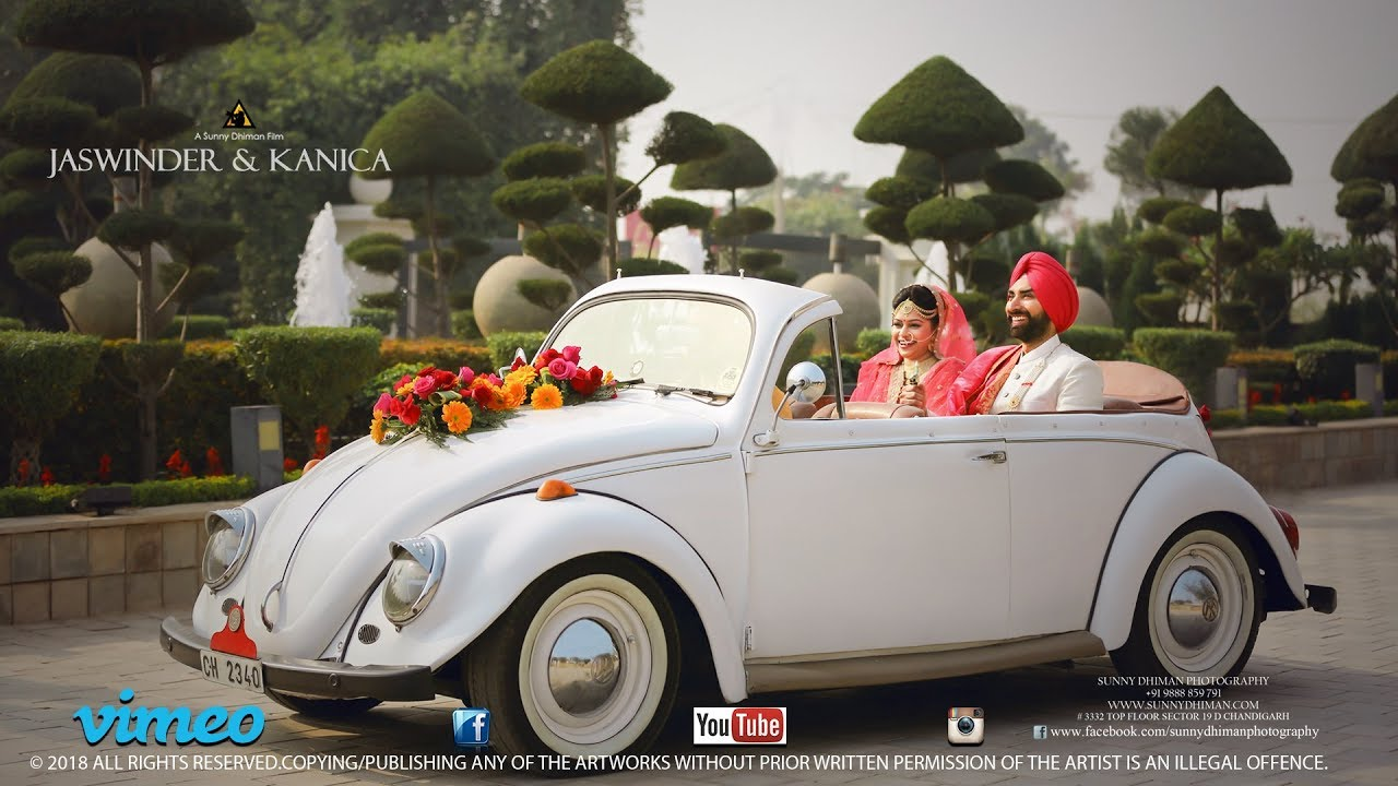 Wedding Highlight | 2018 | Jaswinder & Kanica | Sunny Dhiman Photography |  Chandigarh | India
